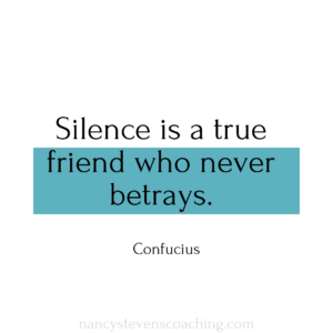 silence is a true friend who never betrays quote