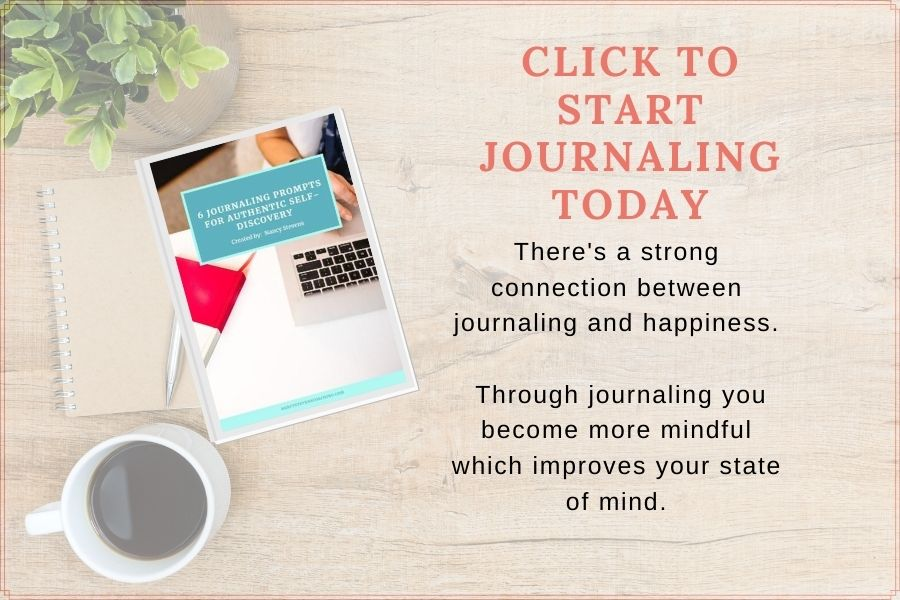 click to signup for free journaling prompts workbook